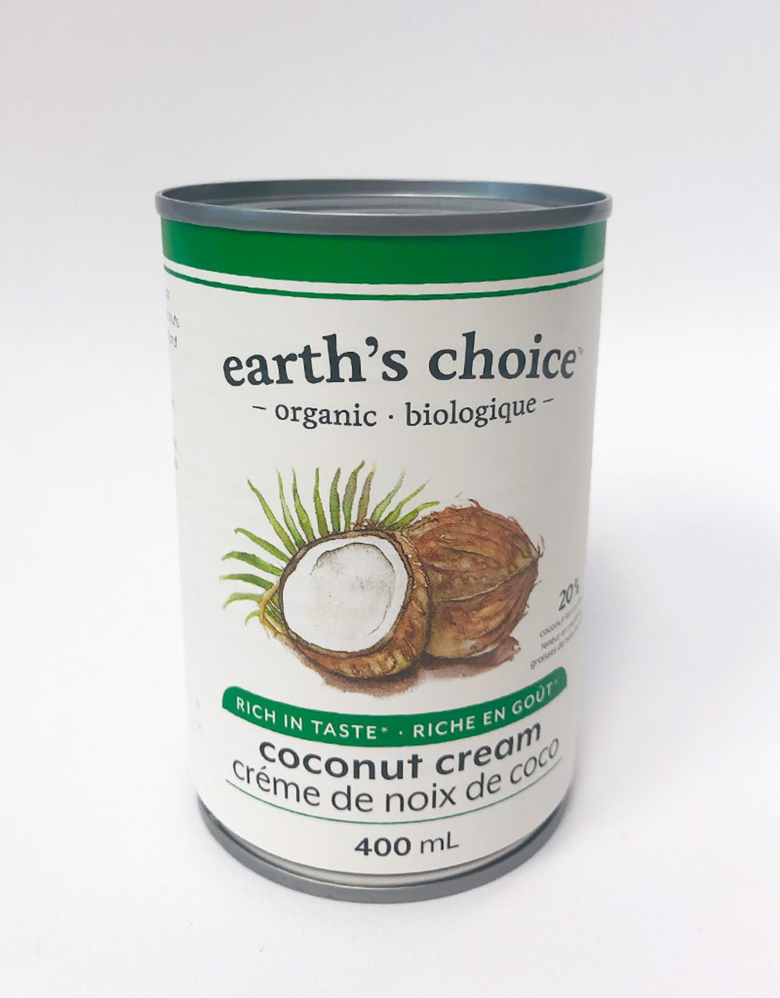 Earth's Choice Earths Choice - Coconut Cream (400ml)