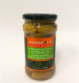 Acropolis Acropolis - Organic Pitted Blond Olives (315 ml)