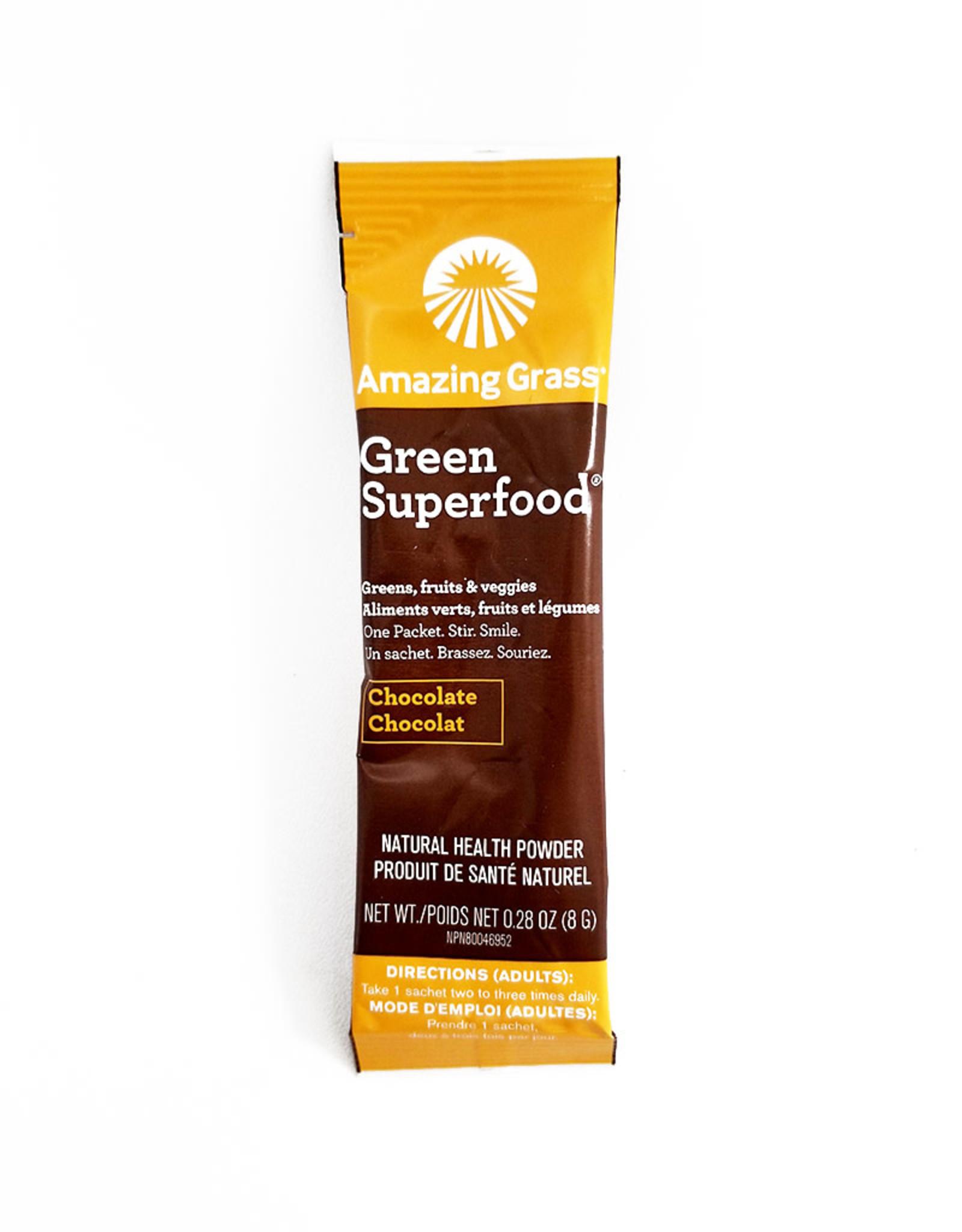 Amazing Grass Amazing Grass - Green Superfood, Chocolate (8g)