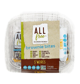 All Free All Free - Brownie Bites, S'mores (5x48g)