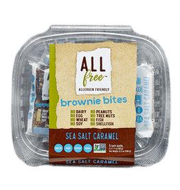 All Free All Free - Brownie Bites, Sea Salt Caramel (5x48g)