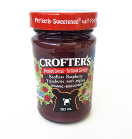 Crofter's Organic Crofters Organic - Fruit Spread, Raspberry (383ml)