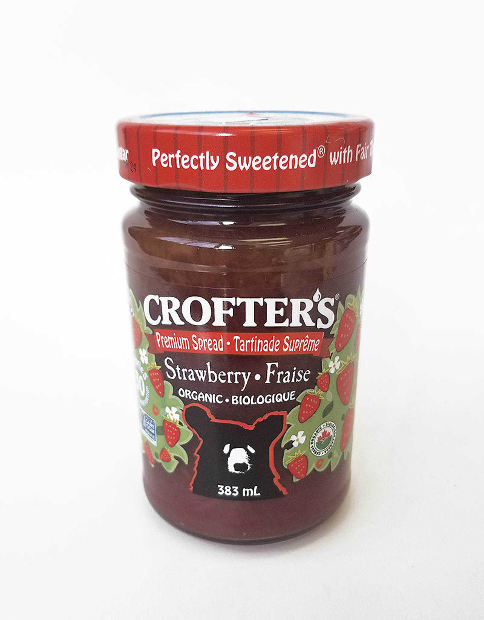 Crofter's Organic Crofters Organic - Fruit Spread, Strawberry (383ml)