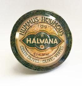 Halvana Halvana- Hummus Green Olives