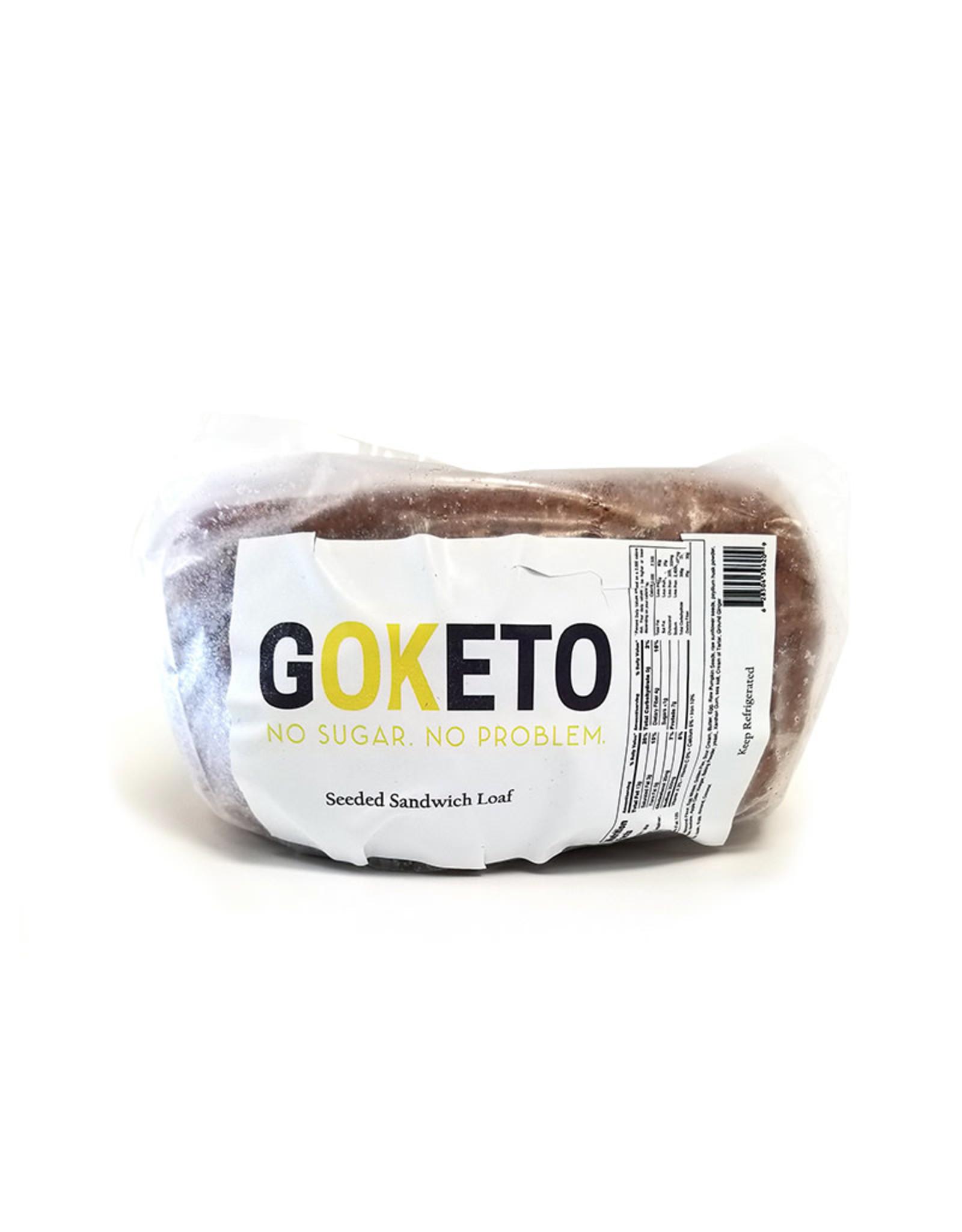 GoKeto GoKeto - Bread, Seeded Sandwich