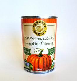Farmers Market Farmers Market - Organic Canned Pumpkin Puree (454ml)
