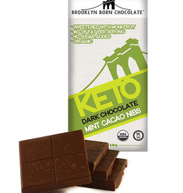 Brooklyn Born Chocolate Brooklyn - Keto Bar, Mint Cacao (60g)