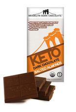 Brooklyn Born Chocolate Brooklyn - Keto Bar, Salted Almond(60g)
