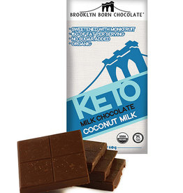 Brooklyn Born Chocolate Brooklyn - Keto Bar, Coconut Milk (60g)