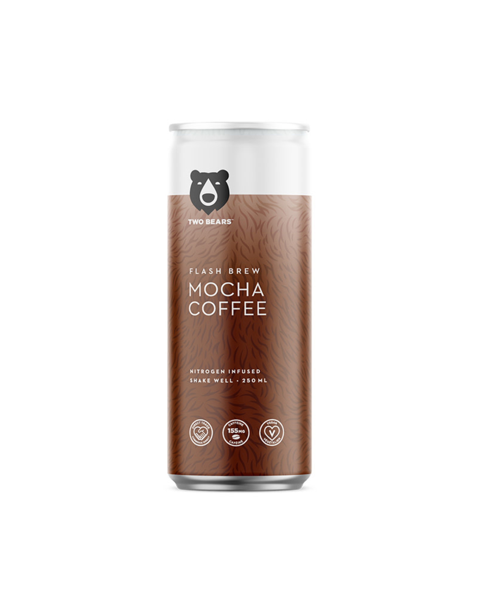Two Bears Cold Brew Coffee Two Bears - Cold Brew Coffee, Moka Cafe (250ml)