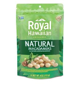 Royal Hawaiian Orchards Royal Hawaiian Orchards - Macadamia Nuts,  Natural (113g)