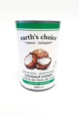 Earth's Choice Earths Choice - Coconut Cream, Guar Gum Free (400ml)