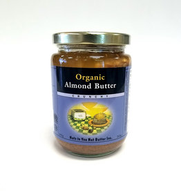 Nuts To You NTY - Organic Almond Butter, Crunchy (365g)