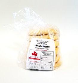 Nutty Bun Bakery Nutty Bun Bakery - Plain Bagels (6 Pack)