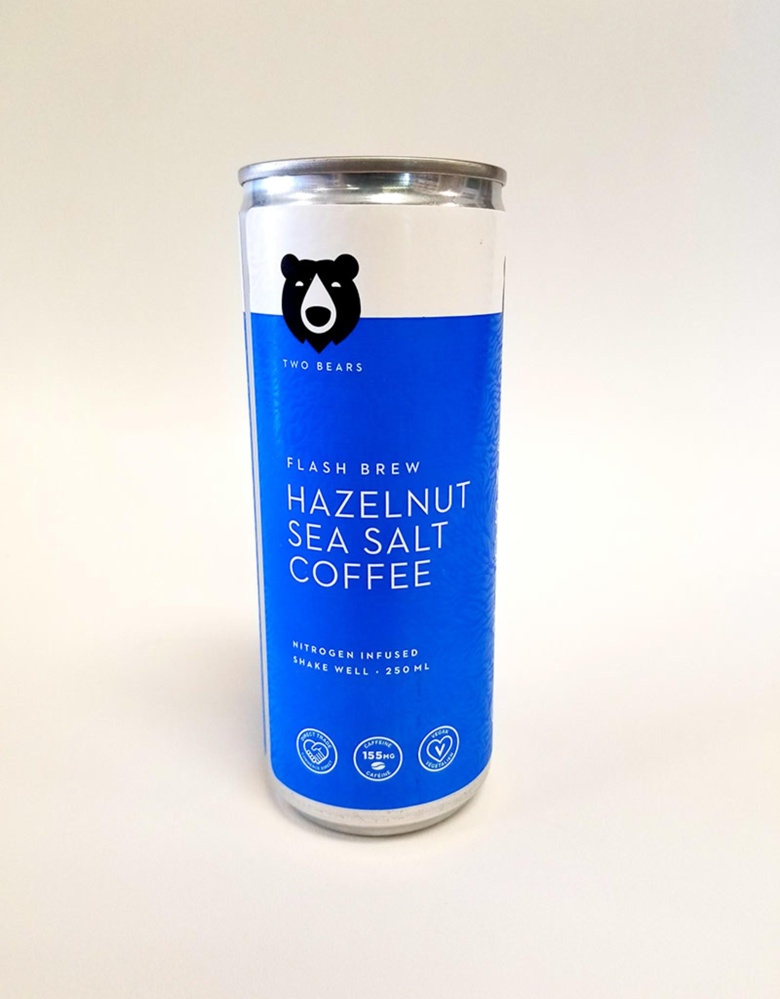 Two Bears Cold Brew Coffee Two Bears - Cold Brew Coffee, Hazelnut Sea Salt (250ml)