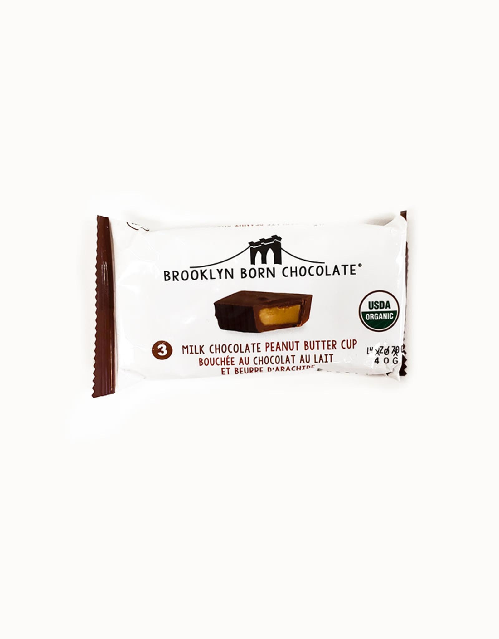Brooklyn Born Chocolate Brooklyn - Peanut Butter Cups, Milk Chocolate (70g)