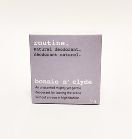 Routine Deodorant Routine - Bonnie n Clyde