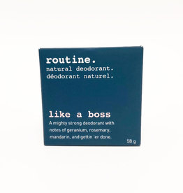 Routine Deodorant Routine - Like A Boss