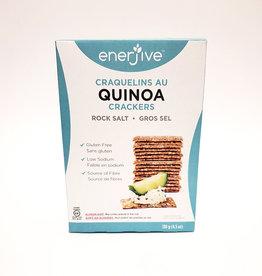 Enerjive Enerjive - Quinoa Crackers, Rock Salt (130g)