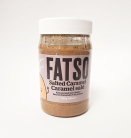 Fatso Fatso - Almond & Seed Butter, Salted Caramel (454g)