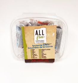 All Free All Free - Brownie Bites, Double Chocolate Brownie (5x48g)