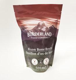 Borderland Food BorderLand Food- Bone Broth, Bison (591mL)