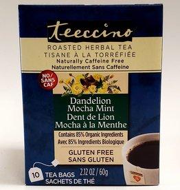 Teeccino Teeccino - Herbal Tea, Dandelion Mocha Mint (10 Bags)