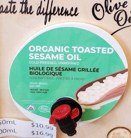 Olive Pressee Olive Pressee - Organic Toasted Sesame Oil,  250ml