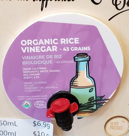 Olive Pressee Olive Pressee - Organic Rice Vinegar,  250ml