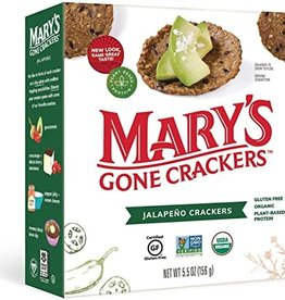 Mary's Organic Crackers Marys Organic Crackers - Jalapeno
