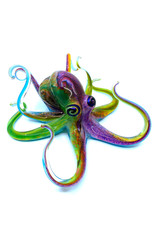 MICHAEL HOPKO MEDIUM MULTI-COLOR OCTOPUS
