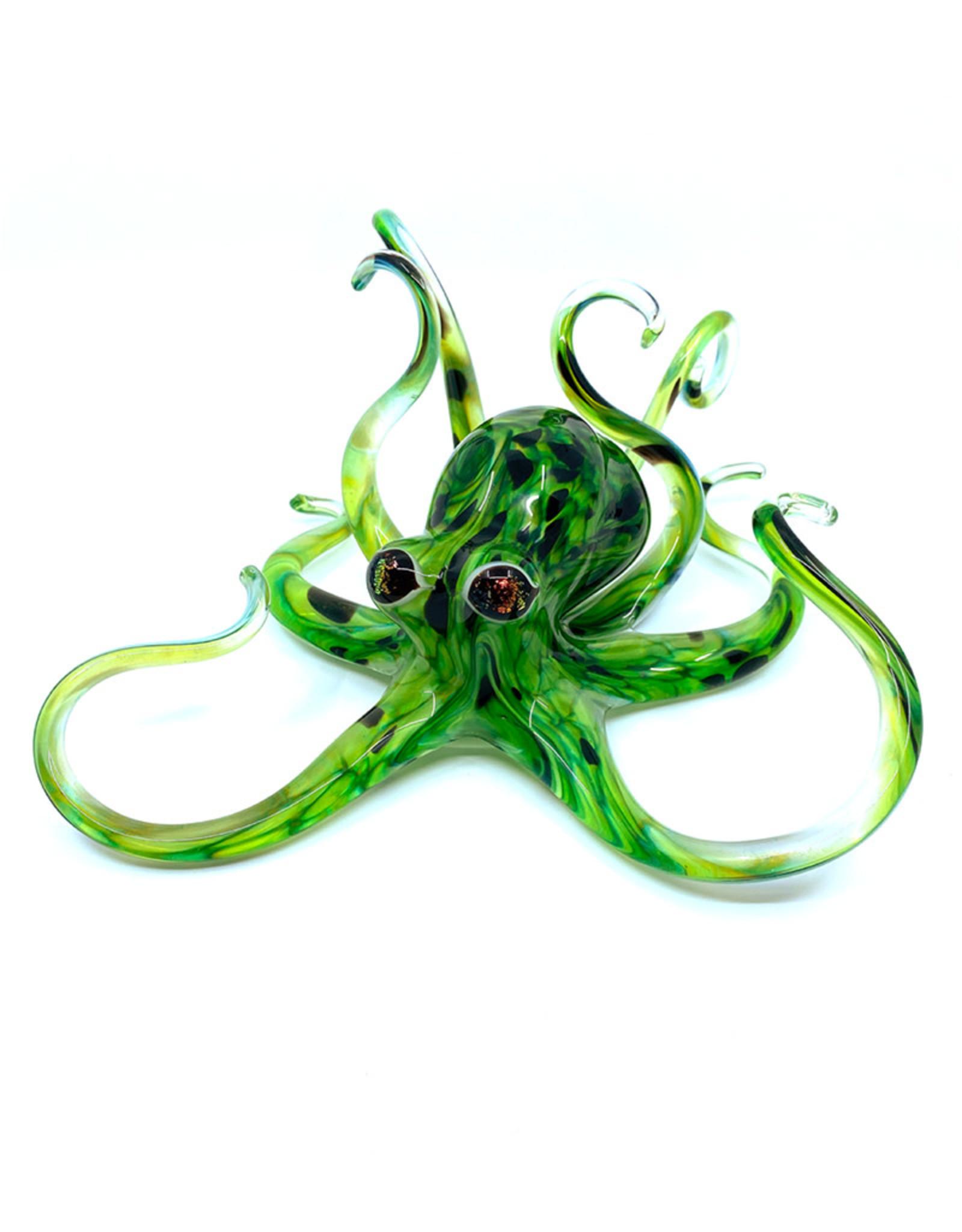 MICHAEL HOPKO SMALL SPRING GREEN OCTOPUS