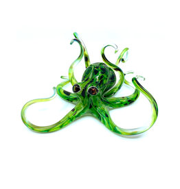 MICHAEL HOPKO SMALL SPRING GREEN OCTOPUS