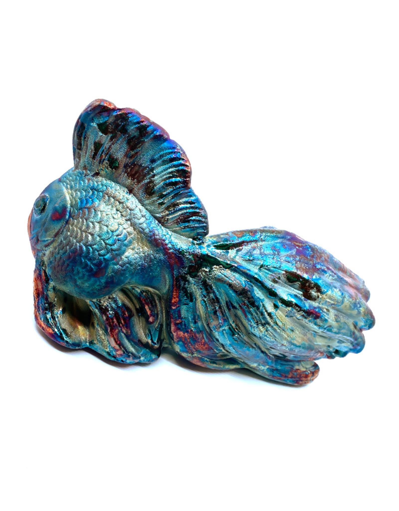 RAKU ART RAKU KOI FISH