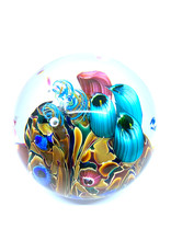 GLASS EYE COOL POOL PAPERWEIGHT