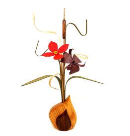 WOOD WILDFLOWERS SEEDLINGS II WOOD FLOWER ARRANGEMENT