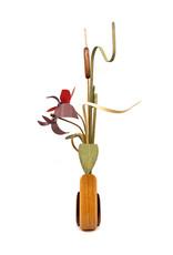 WOOD WILDFLOWERS WOODEN FLOWER ARRANGEMENT - SEEDLINGS II