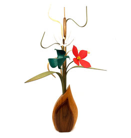 WOOD WILDFLOWERS WOODEN FLOWER ARRANGEMENT - SEEDLINGS III