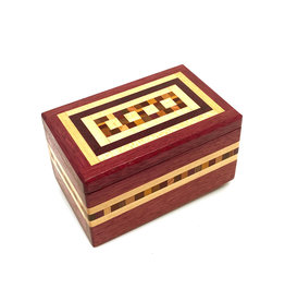 NATURAL RENAISSANCE PURPLEHEART KEEPSAKE BOX
