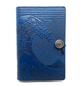 OBERON HOKUSAI WAVE  JOURNAL (NAVY)