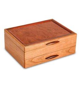 HEARTWOOD CREATIONS PRAIRIE 1 DRAWER JEWLERY BOX