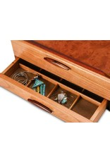 HEARTWOOD CREATIONS PRAIRIE 1-DRAWER JEWELRY BOX