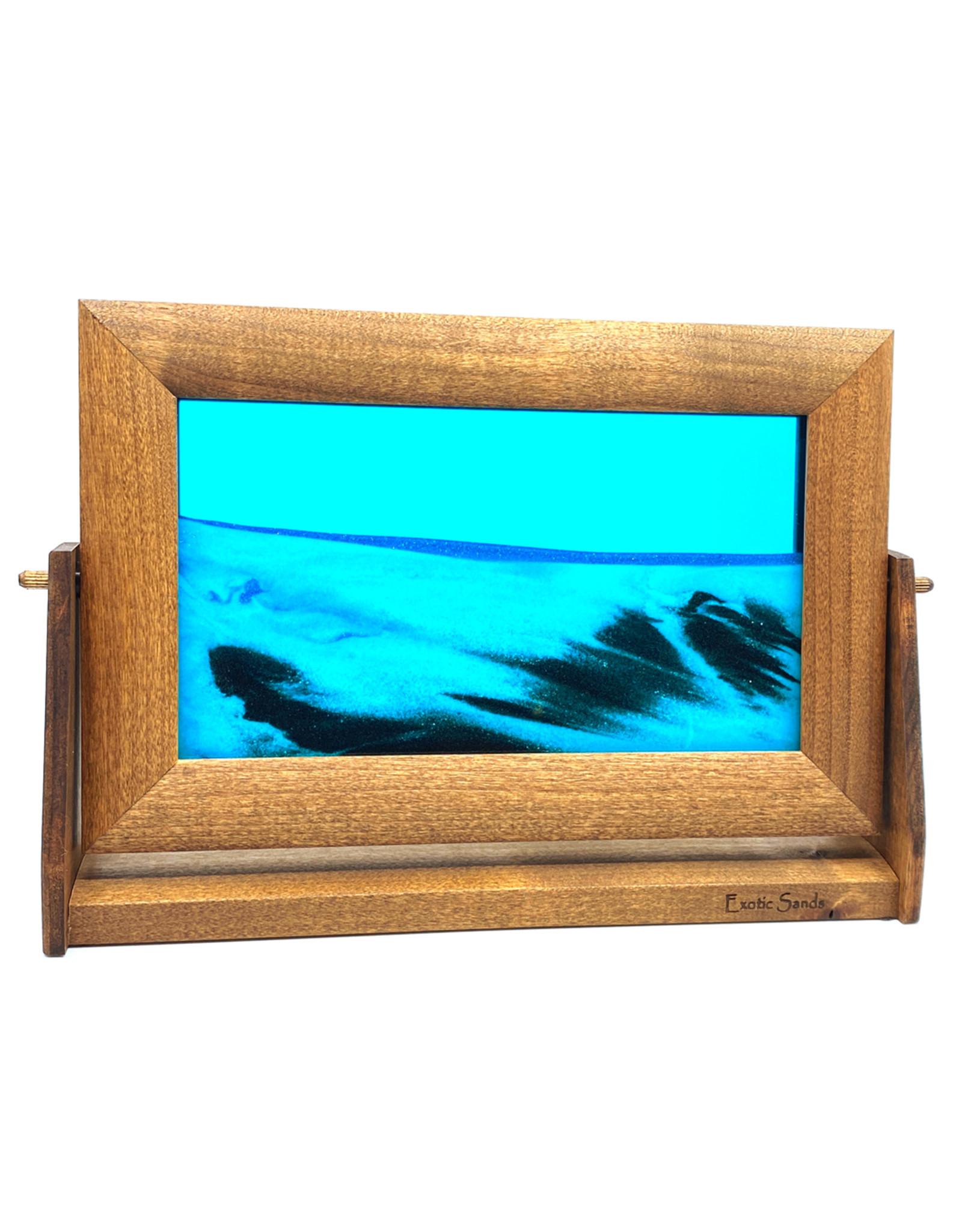 EXOTIC SANDS LARGE OCEAN BLUE SANDSCAPE