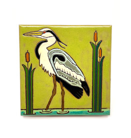 PACIFIC BLUE TILE GREAT BLUE HERON TILE