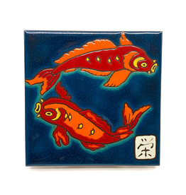 PACIFIC BLUE TILE KOI TILE