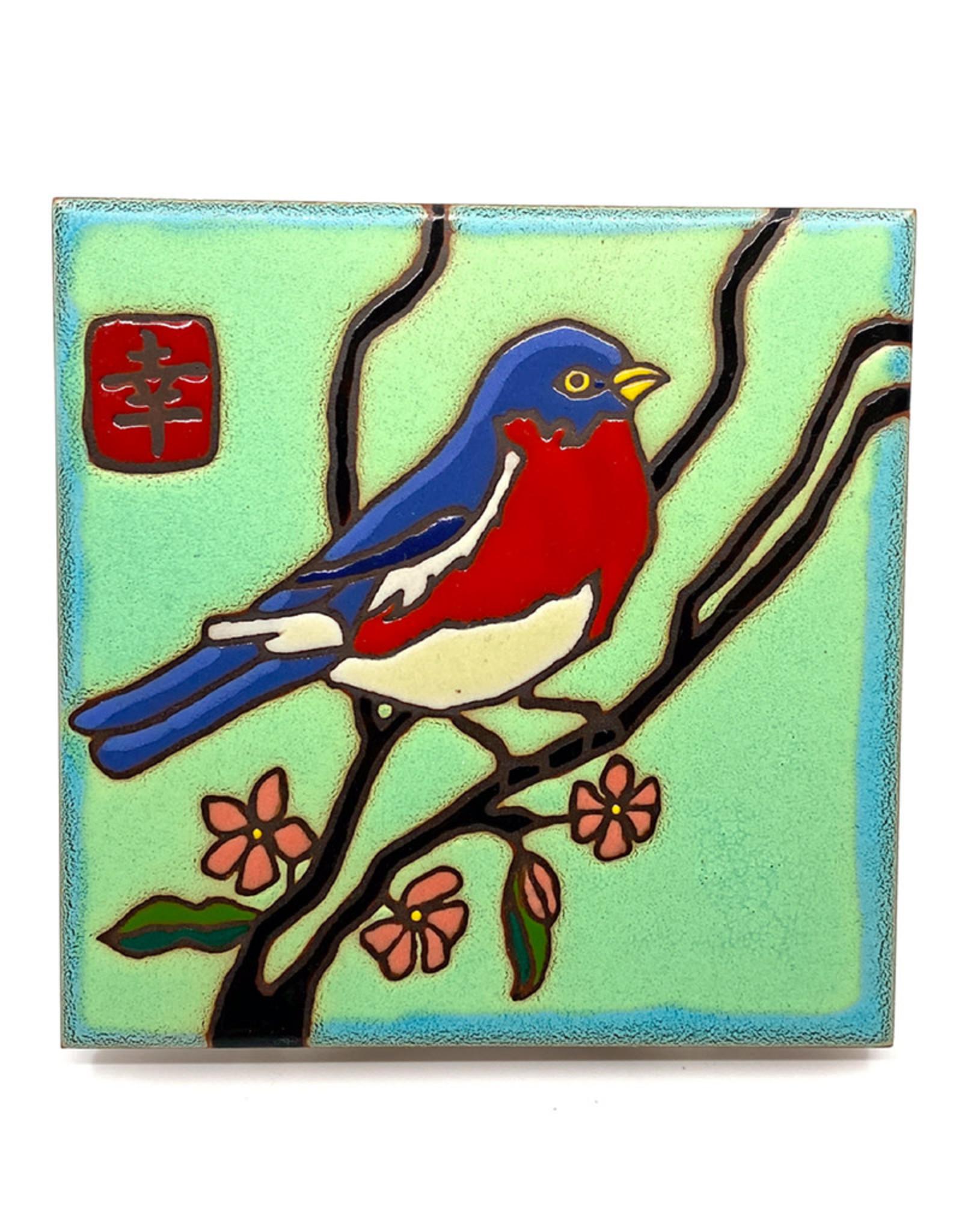 PACIFIC BLUE TILE BLUEBIRD TILE