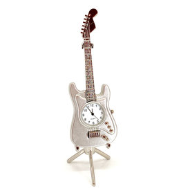 SANIS ELECTRIC GUITAR MINIATURE CLOCK
