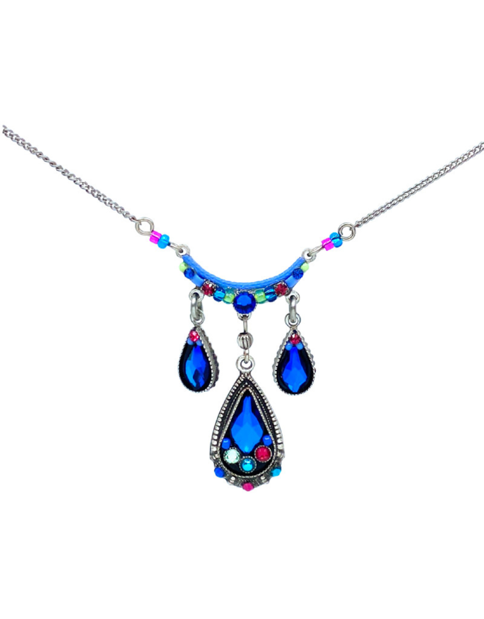 FIREFLY BERMUDA BLUE FLAME NECKLACE