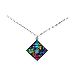 FIREFLY MULTICOLOR DIAMOND PENDANT