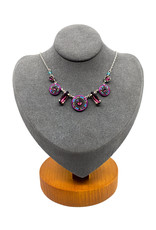 FIREFLY LA DOLCE VITA PURPLE PASSION NECKLACE